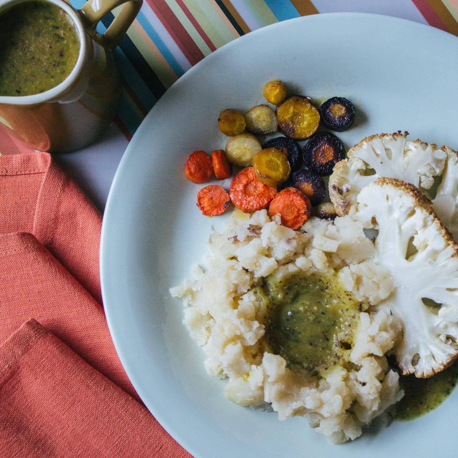Vegan Gluten-Free Sage Gravy | Veeg