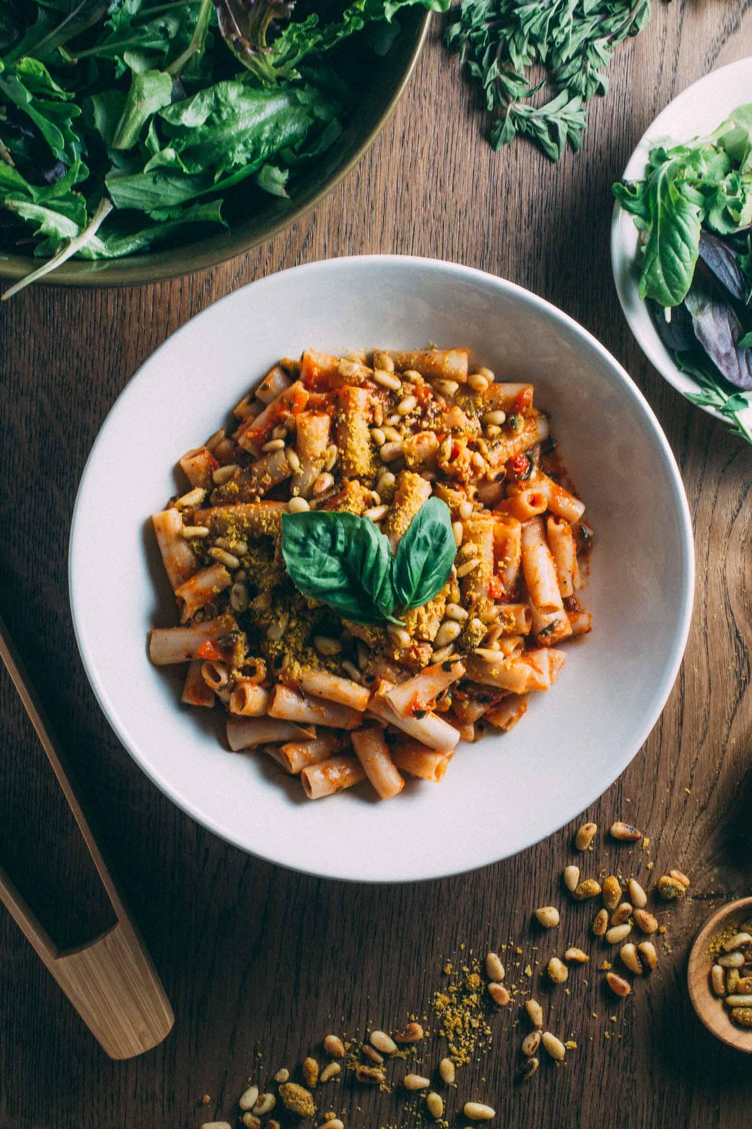 Sun-Dried Tomato Best-o Pesto Pasta #vegan #plant-based #plantbased #diet