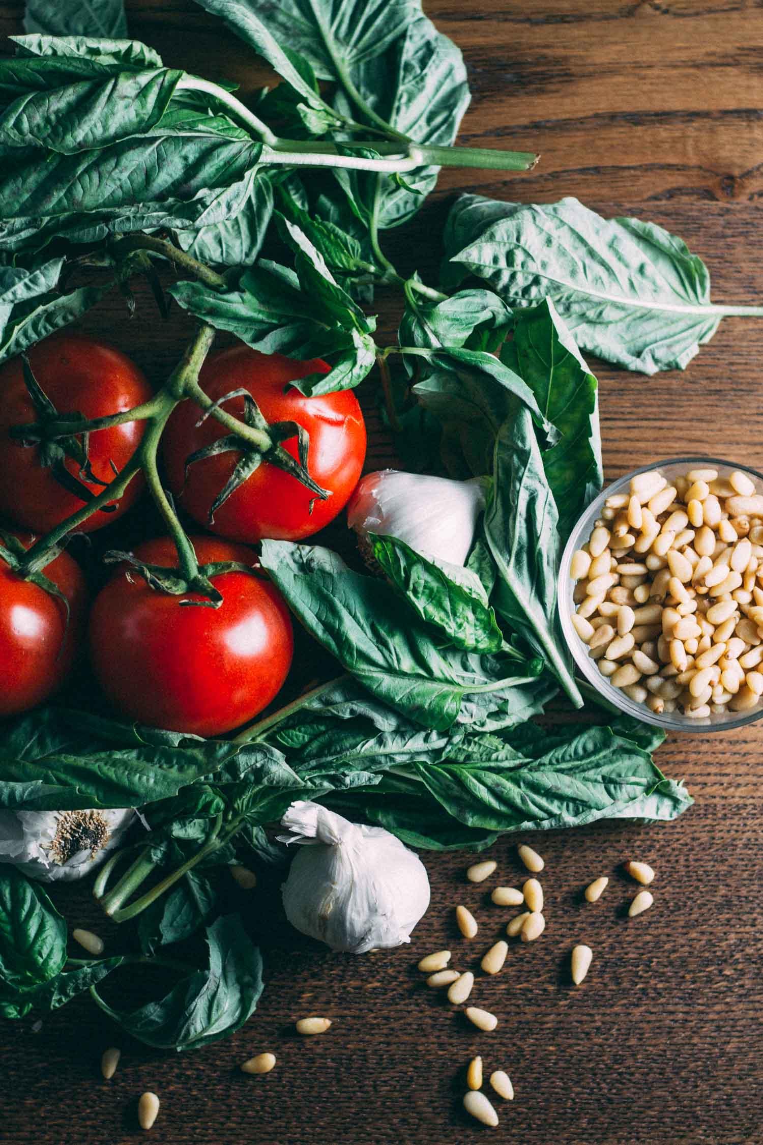 Sun-Dried Tomato Best-o Pesto Pasta #basil #garlic #tomatoes #sauce