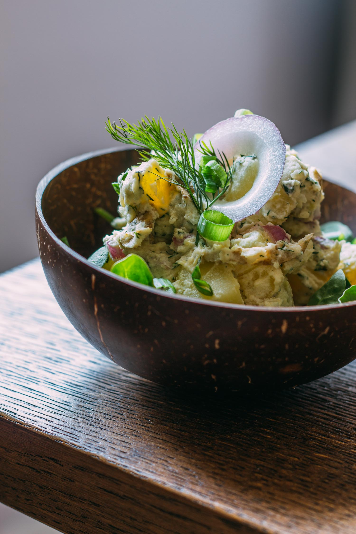 Tarragon Dill Potato Salad #healthy #sides #potatoes #salads #easy #recipes #vegetarian
