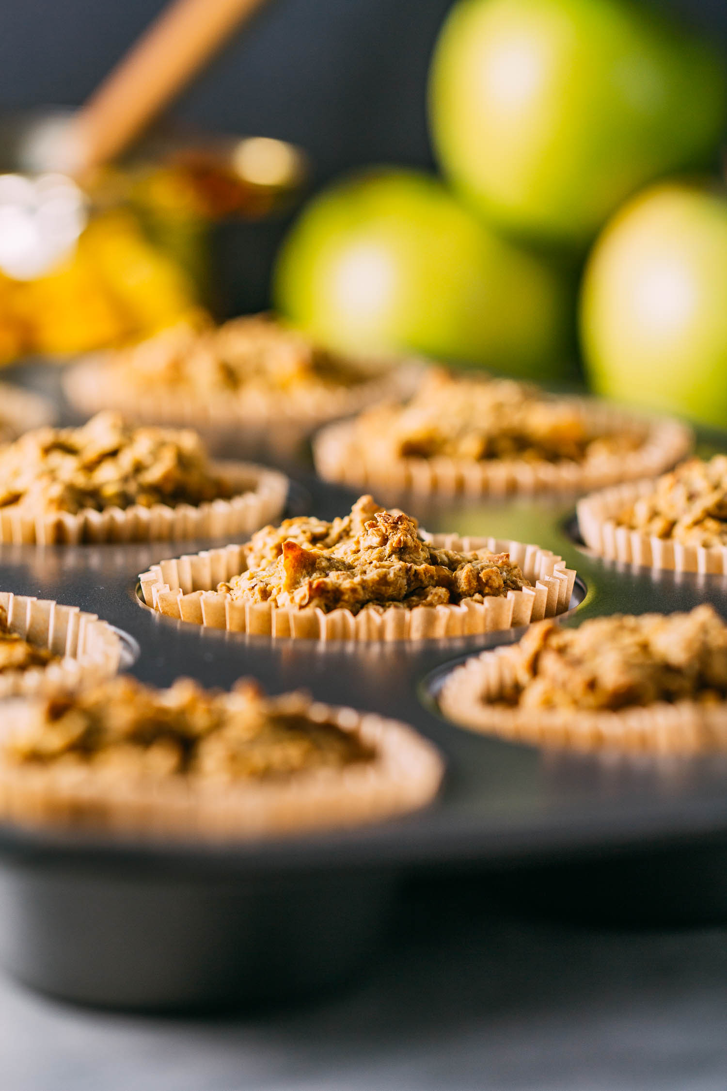 Southern Style Stuffing Muffins #stuffing #muffins #wfpb #plant-based #wfpbno #refined oil-free #gluten-free #vegan #recipe #healthy #recipes #holiday #Thanksgiving #Christmas #side dish #holidays #corn #cornbread #sage #oats #almond flour #bread