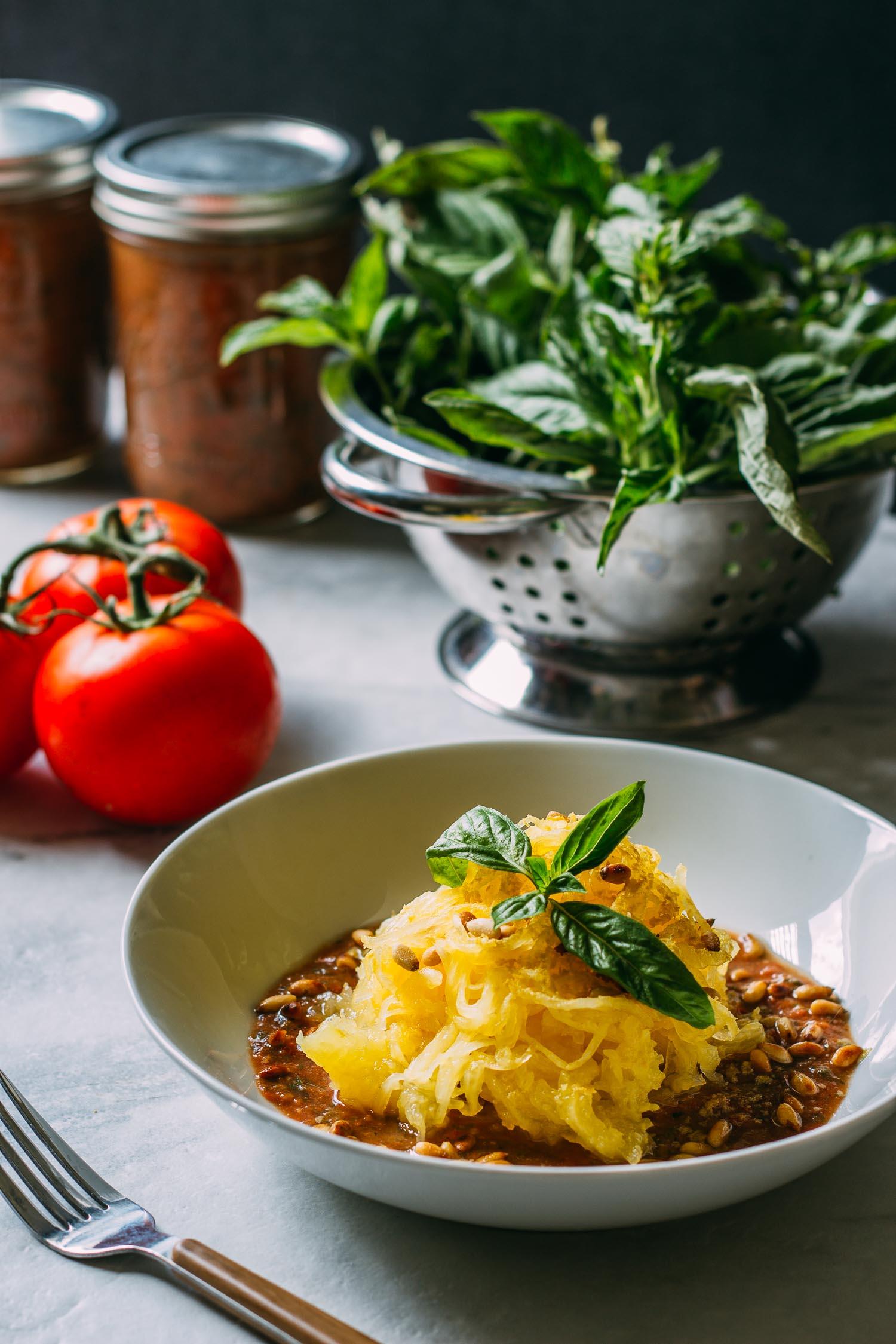 5-Minute Tomato Basil Pesto Sauce #sun-dried #tomato #tomatoes #basil #pesto #garlic #sauce #pasta #no-cook #blender #oregano #herbs #vegan #plant-based #simple #recipe #wfpb #recipes #wfpbno #gluten-free #Italian #5-minutes #healthy #fit
