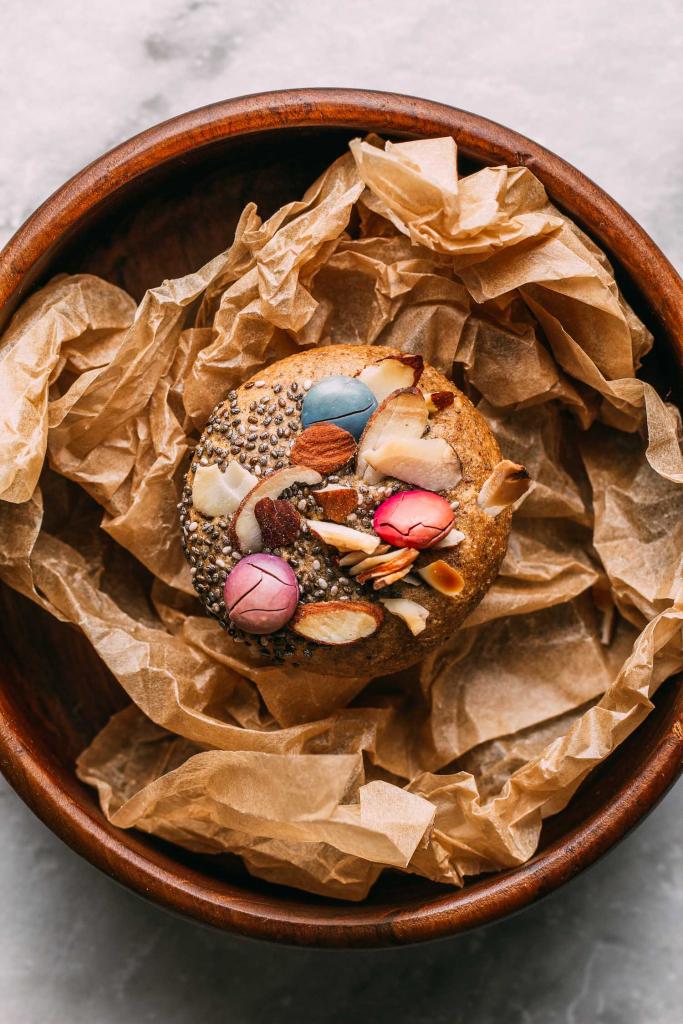 Chewy Almond Lemon Bird's Nest Cookies  #chewy #almond #lemon #birdsnest #cookies #cookie #tahini #oilfree #cleaneating #diet #eat #healthy #food #vegan #vegetarian #recipes #veggie #dairyfree #plantbased #glutenfree #eatclean #sugarfree #recipe #wheatfree #wfpb #wfpbno #fok #mcdougall #Easter #spring #babyshower #vegansnacks #treats #dessert #Unreal #children #kids