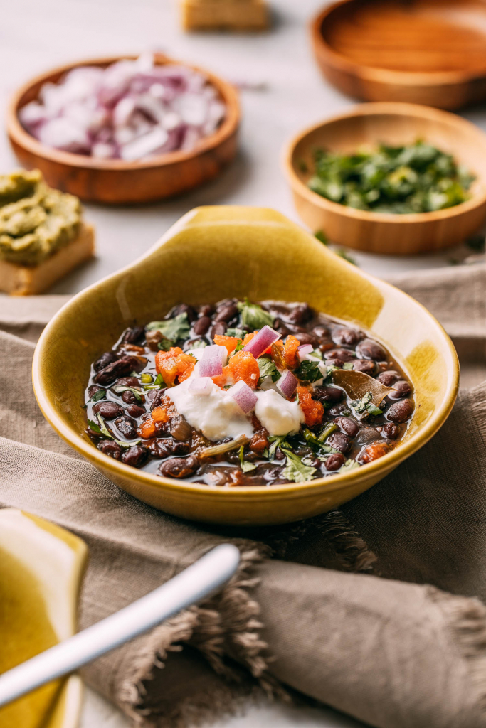 Legumes Recipe for Black Beans Instant Pot Crock-Pot or Stovetop Recipes