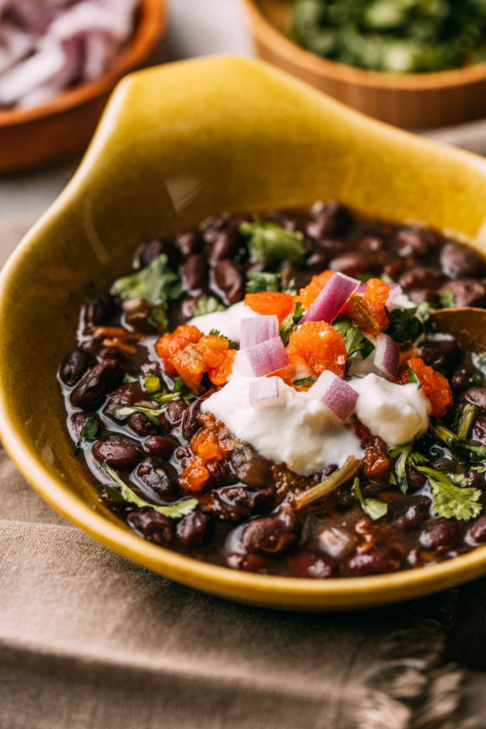 Instant Pot Black Bean Soup 3 Ways