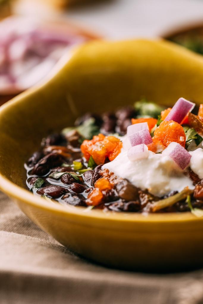 Instant Pot Black Bean Soup 3 Ways