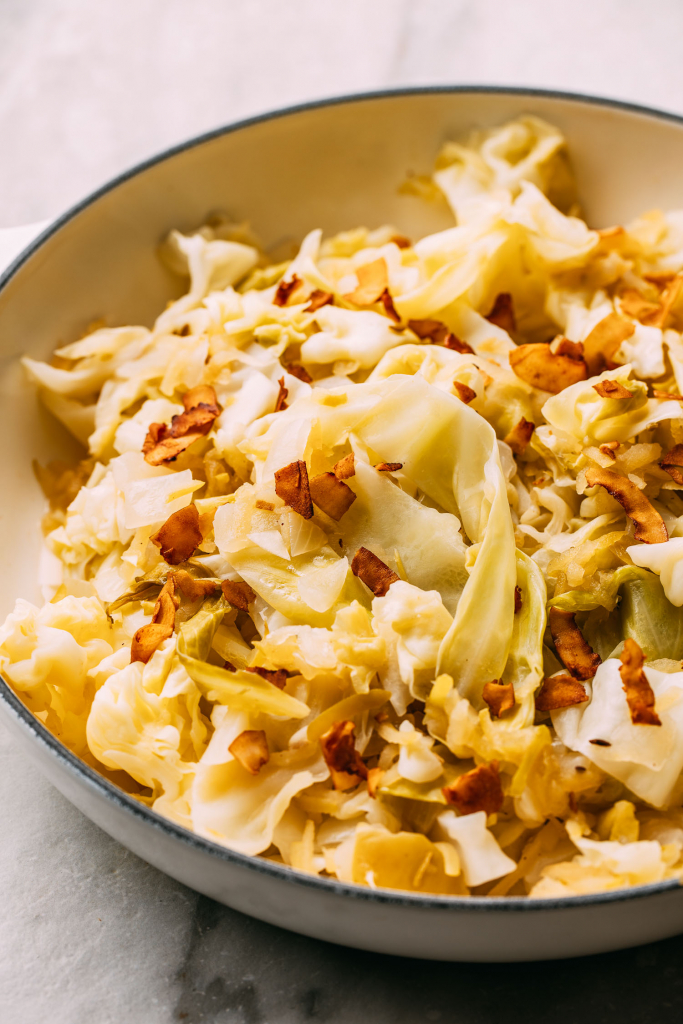 cooked cabbage recipe how to cook cabbage in an Instant Pot